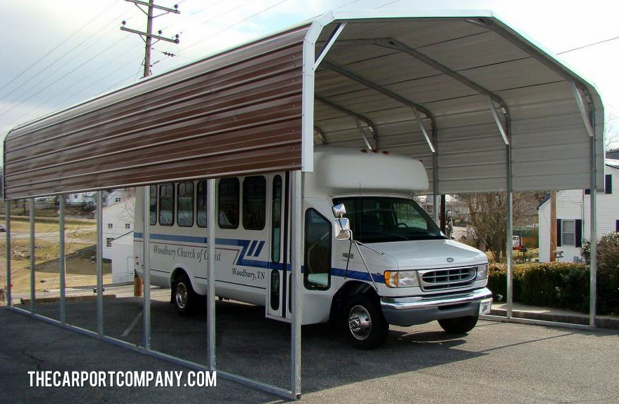 Unusual Portable Carports : Classic metal carports the carport company