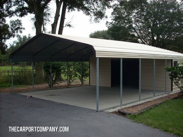 shop port metal carport the carport company. Black Bedroom Furniture Sets. Home Design Ideas